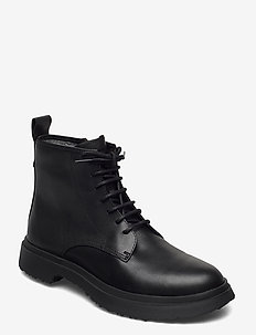 Walden - laced boots - black