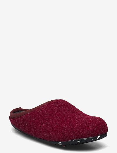 Wabi - kapcie - burgundy