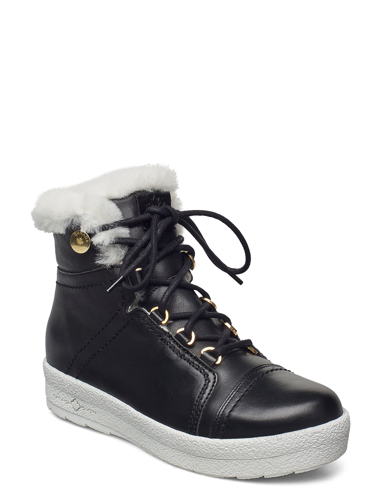 Image of Mount Baker Lace Up Shoes Boots Ankle Boots Ankle Boot - Flat Sort Canada Snow (3447796303)