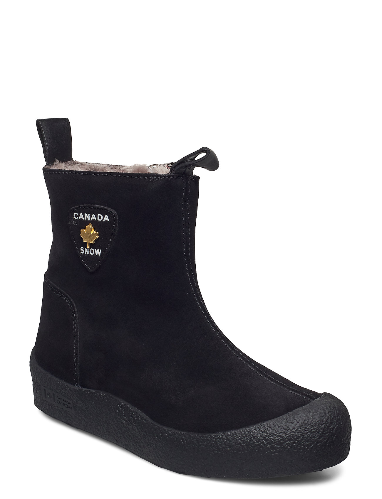 Image of Quebec Gold Shoes Boots Ankle Boots Ankle Boot - Flat Sort Canada Snow (3447796307)