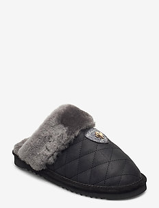 Edmonton - slippers - black