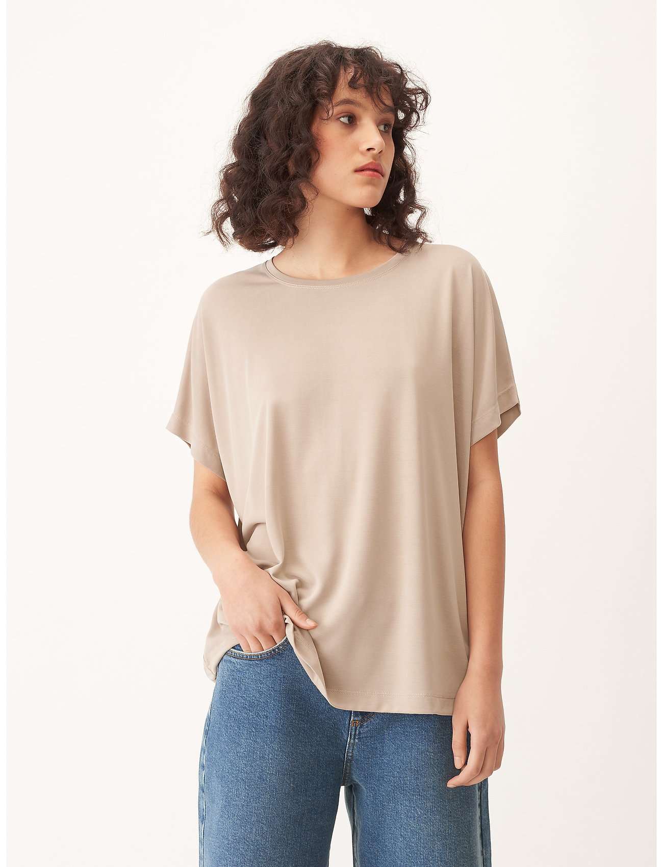 Carin Wester - Shimmer - t-shirts - beige - 0
