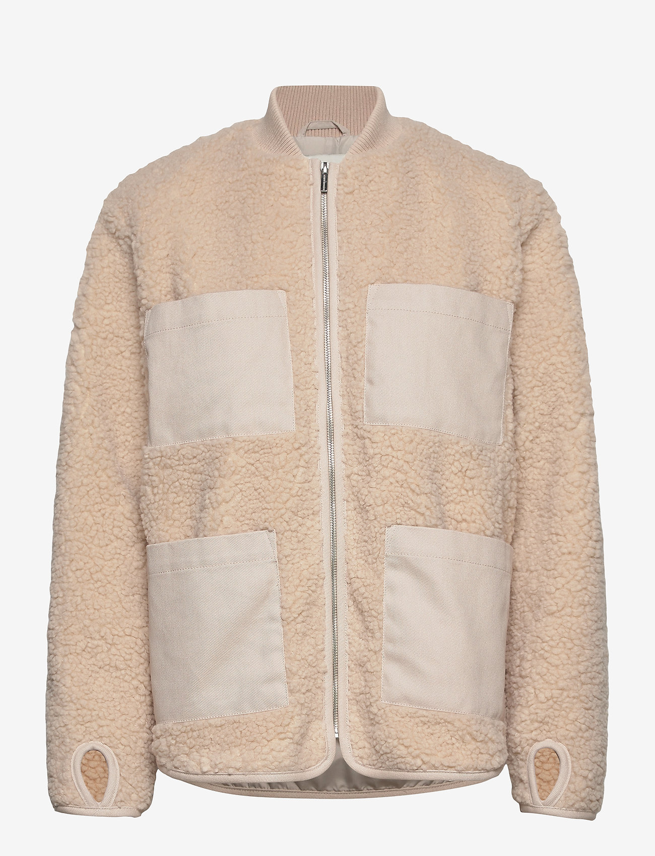 Carin Wester - Row - faux fur - offwhite - 1