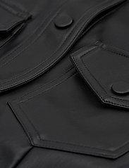 Carin Wester - Lucy PU - alledaagse jurken - black - 4