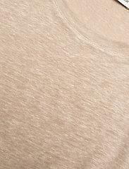 Carin Wester - Sense linen - t-shirts - beige - 5