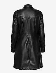 Carin Wester - Lucy PU - alledaagse jurken - black - 2