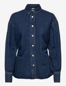 Enya - džinsiniai marškiniai - denim blue