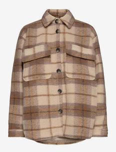 Lykke - overshirts - light check