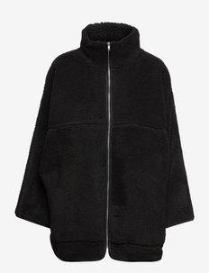 Teddy - mid layer jackets - black