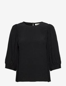Etienne - blouses à manches longues - black