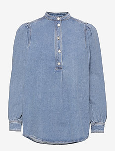 Caty - jeanshemden - denim blue