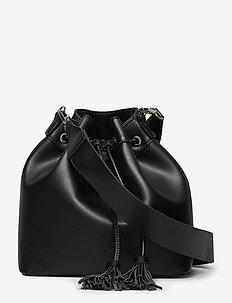 CARLA - bucket-laukut - black
