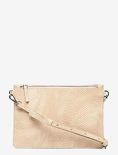 Big cross MIX - crossbody bags - beige 3