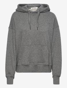 VISLA - sweatshirts & hoodies - grey melange medium