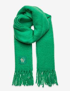 Brushed Scarf - vinterskjerf - gumdrop green