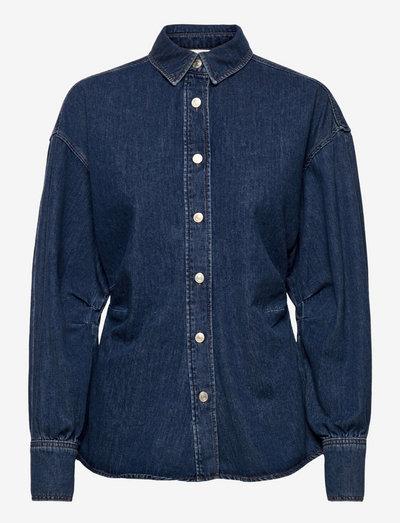 Enya - jeansskjortor - denim blue