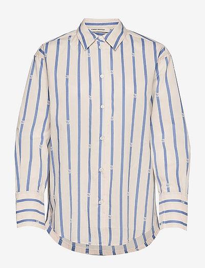 Eve - denimskjorter - blue / white