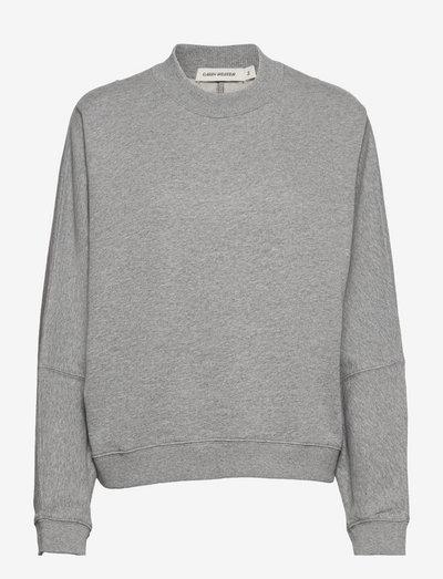 Sabine - sweatshirts & hættetrøjer - grey mel