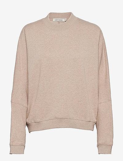 Sabine - sweatshirts & hættetrøjer - oat melange