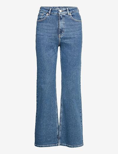 Cindy - brede jeans - denim blue 5