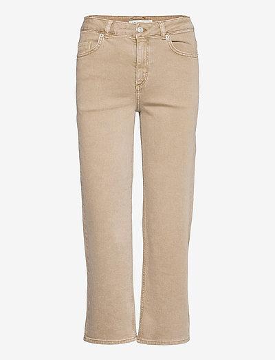 CW Jeans Elle - straight jeans - camel denim