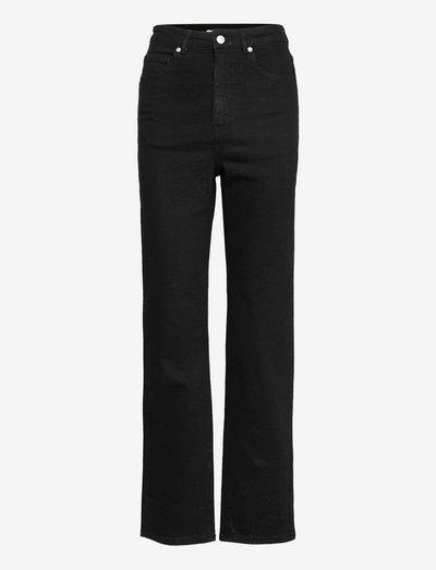 Tatjana - raka jeans - black