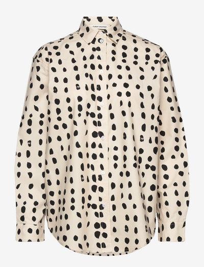 Birke - denimskjorter - big dots