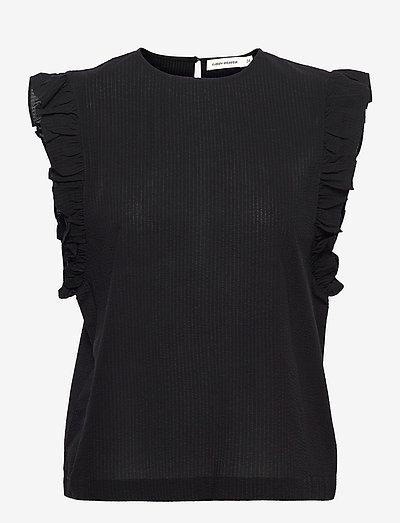 Doya SS21 - sleeveless blouses - black