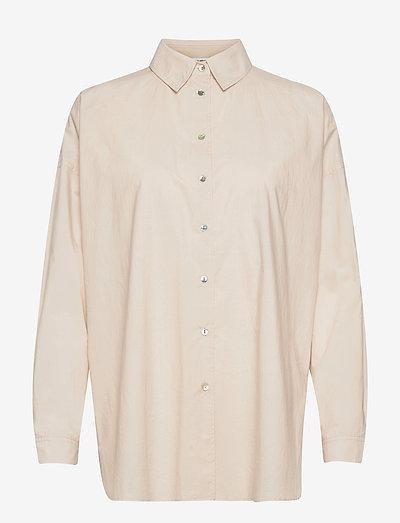 Byron - overhemden met lange mouwen - beige