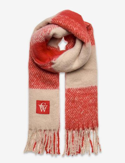 Brushed Scarf logo - halstørklæder - check