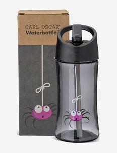 Water Bottle Kids 0.35 L - Grey - vannflasker - grey