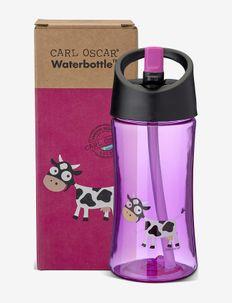 Water Bottle Kids 0.35 L - Purple - vannflasker - purple