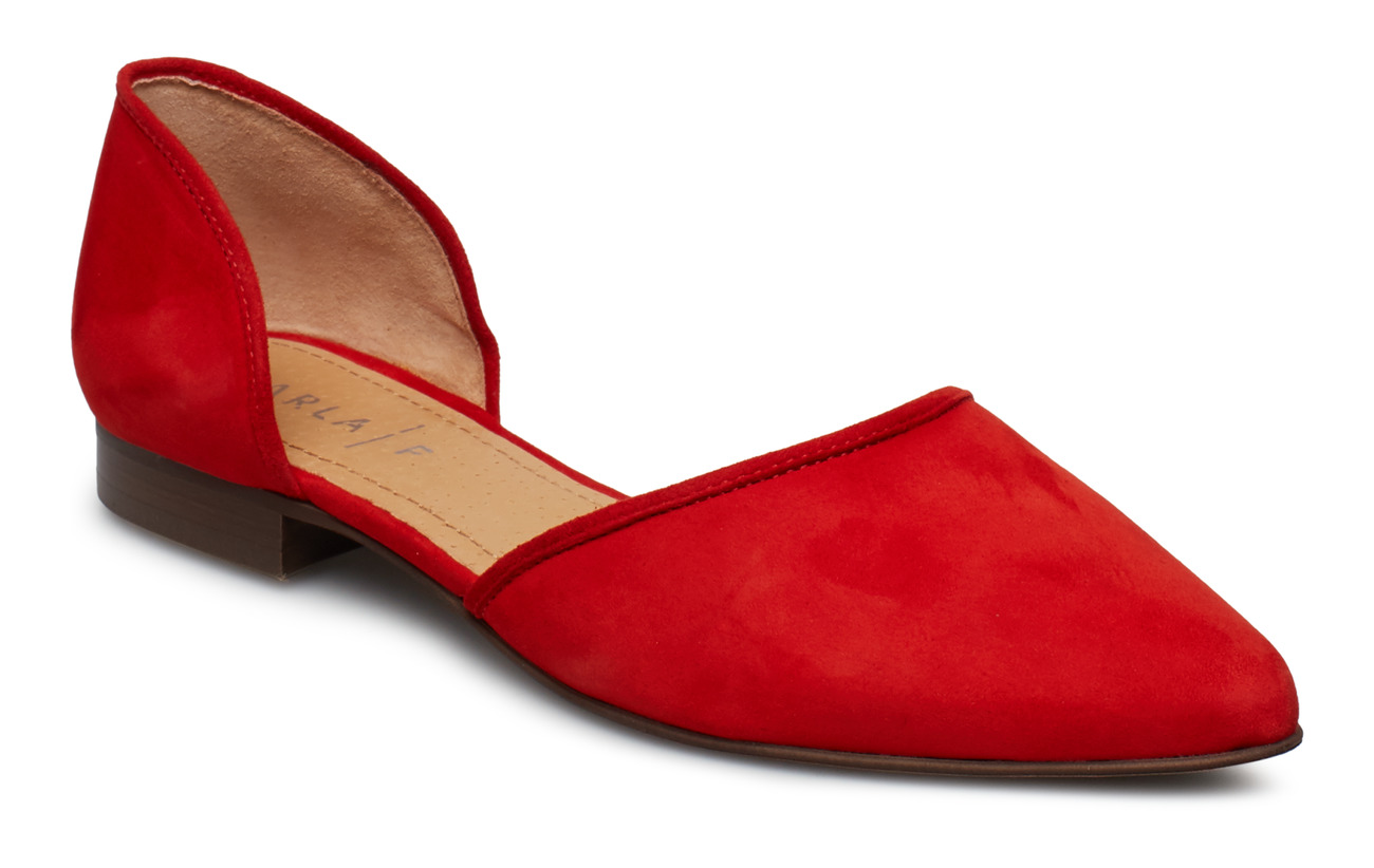 Carla F SHOES - SUMMER RED 1577 SUEDE 57