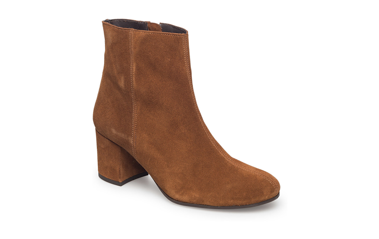 Carla F BOOTS - TABACCO 394 SUEDE 55