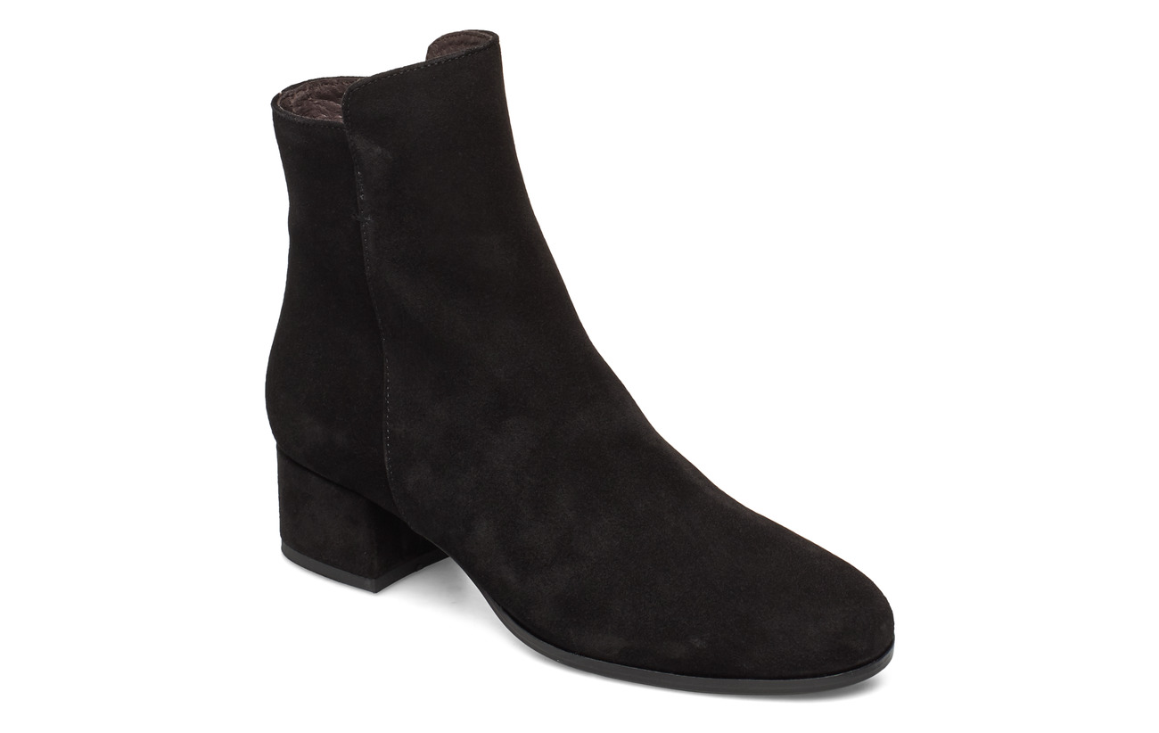 Carla F Booties 95500 - BLACK SUEDE 500