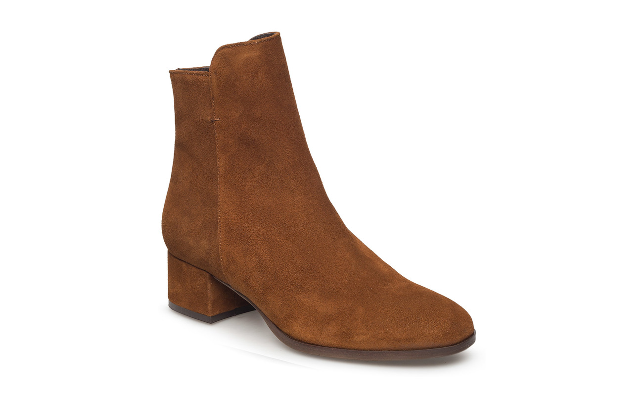Carla F Booties 95500 - TABACCO 394 SUEDE 55