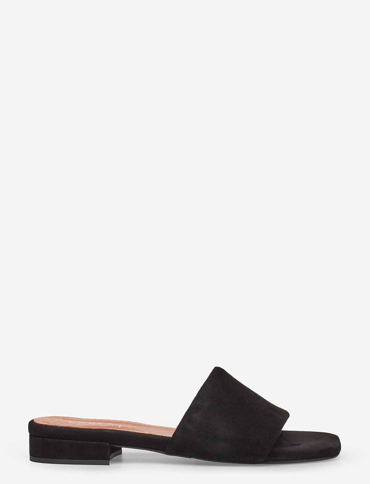 Carla F - Sandals 18718 - matalat sandaalit - black suede 50
