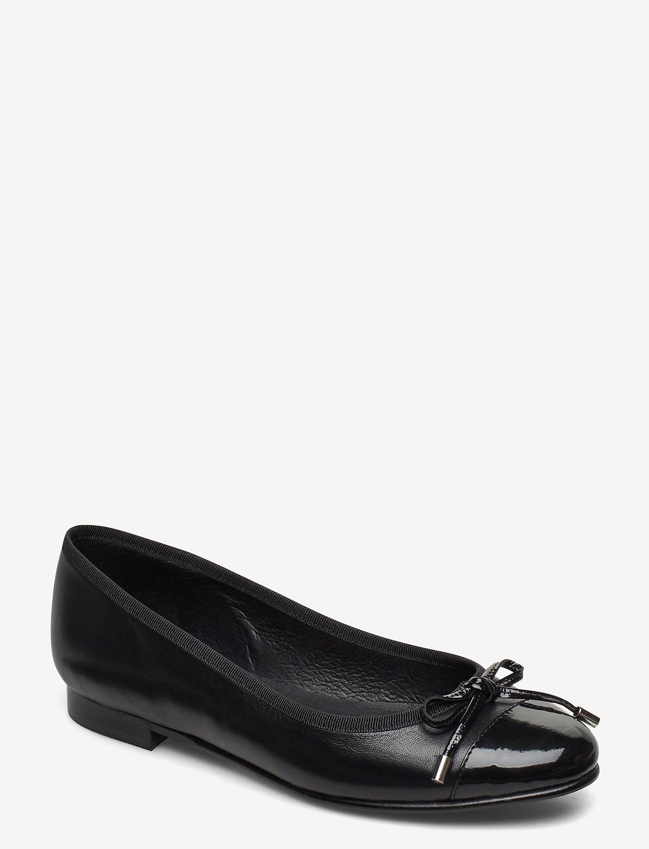 Carla F - Shoes 18810 - ballerinat - bl.patent/nappa 270