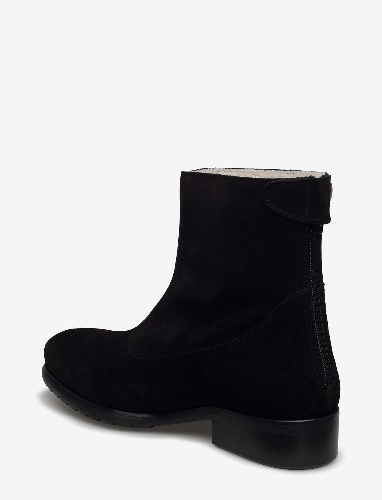 Boots (Black Suede 500) - Carla F