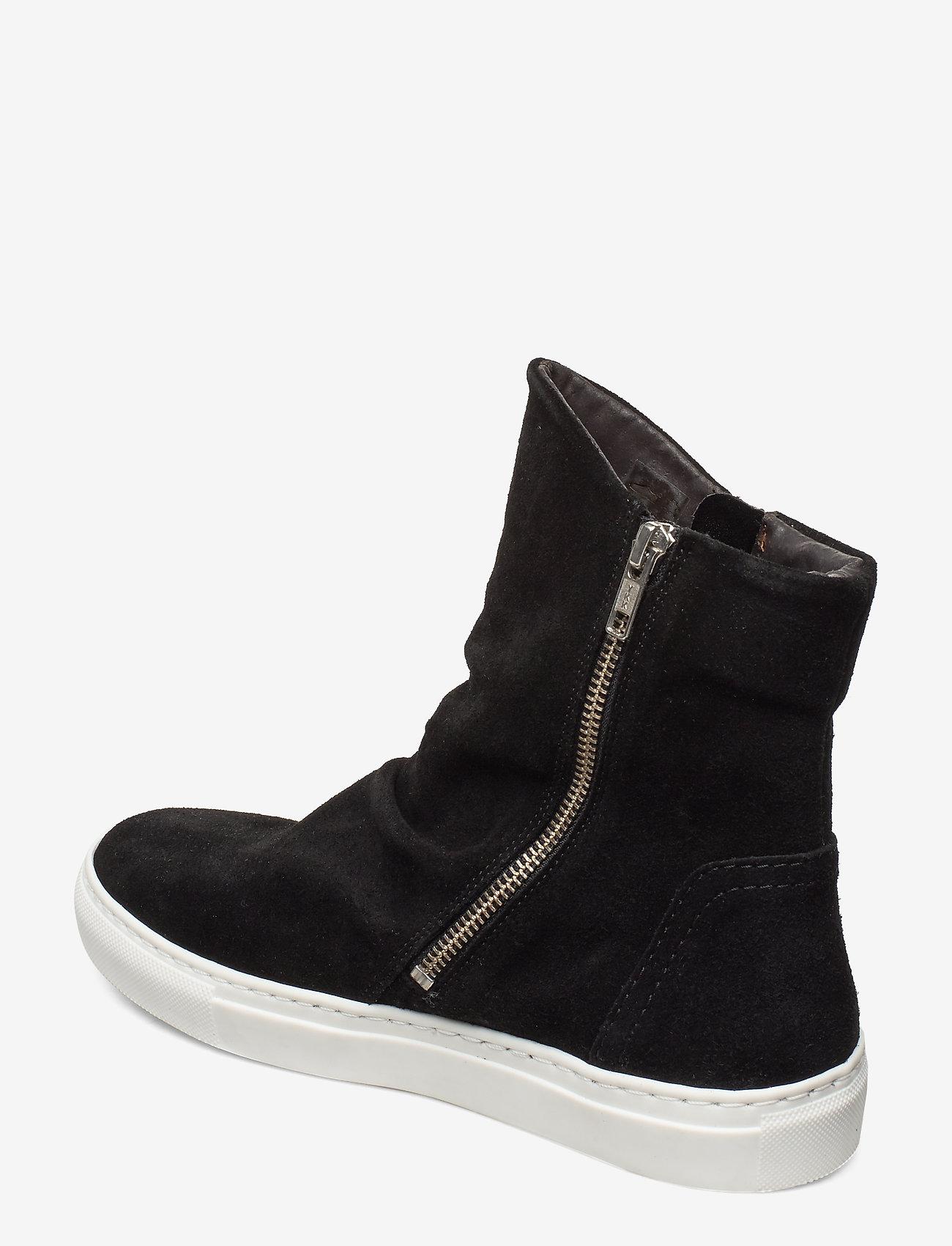 Boots (Black Suede/white Sole 50) - Carla F