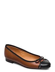Shoes 18810 - BL.PATENT/BROWN NAPPA 275