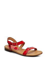 SANDALS - RED TRISTAN PATENT 290