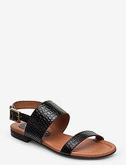 Carla F - Sandals 14010 - matalat sandaalit - black yango 10 - 0