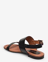 Carla F - Sandals 14010 - matalat sandaalit - black yango 10 - 2
