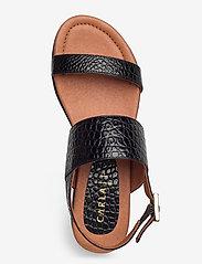 Carla F - Sandals 14010 - matalat sandaalit - black yango 10 - 3