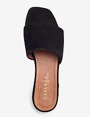 Carla F - Sandals 18718 - matalat sandaalit - black suede 50 - 3