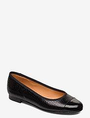 Carla F - Shoes 18811 - ballerinat - black patent/black yango 210 - 0