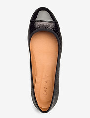 Carla F - Shoes 18811 - ballerinat - black patent/black yango 210 - 3