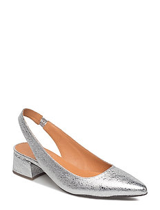 PUMPS - SILVER METAL 3