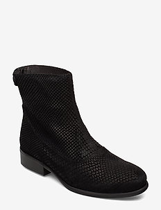 Boots 82990 - BLACK MUSTANG SNAKE SUEDE 100